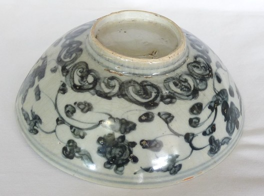 15th-18th Century Chinese Shipwreck Bowl